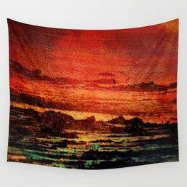 Sunset in the Desert Wall Tapestry