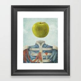 Sgt. Apple  Framed Art Print