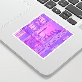 Asakusa Lights Sticker