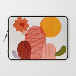 Abstraction_Cactus_&_Sun Laptop Sleeve