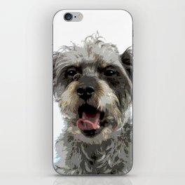 Yawning Dog iPhone Skin
