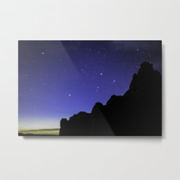 Stars at Arches National Park Moab, UT Metal Print