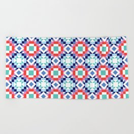 Perfect Points Beach Towel