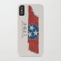 tennessee iPhone & iPod Cases featuring Tennessee: 1796 by Chad Madden