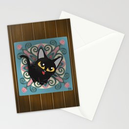On the rug Stationery Cards