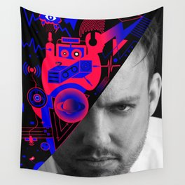 Maceo Plex By Sebas Rivas Wall Tapestry