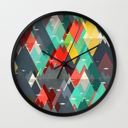 Pattern Of Nature Wall Clock