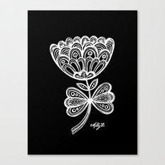 White Flower 92 Canvas Print