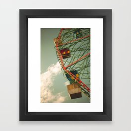 Dull Times Framed Art Print