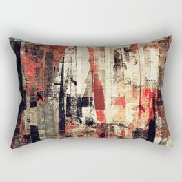 """Messages"" Inspired by the Bobby McFerrin music. Rectangular Pillow"