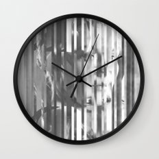 Jaded lines in the current setting Wall Clock