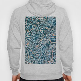 Abstract Composition 333 Hoody
