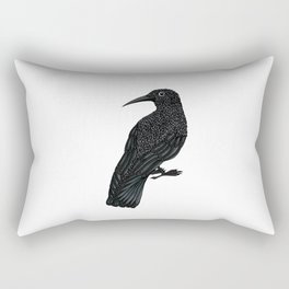 black crow Rectangular Pillow