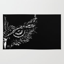 Focused (Black) Rug