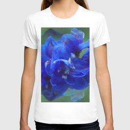 True blue delphinium T-shirt