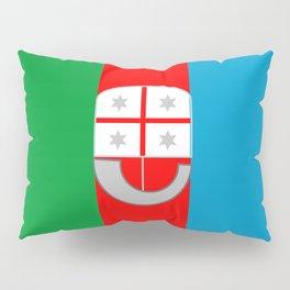 flag of liguria Pillow Sham