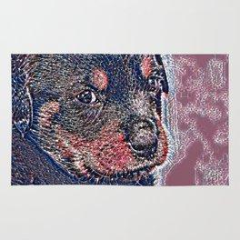 GlitzyAnimal_Dog_004_by_JAMColors Rug