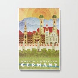 Munich Germany Metal Print