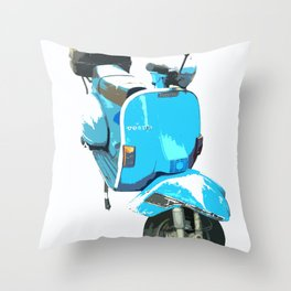 Viva la Vespa! Throw Pillow