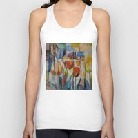 tulips Tank Tops featuring Tulips by Michael Creese