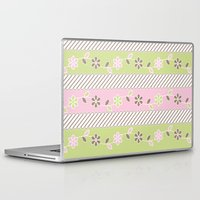 batik Laptop & iPad Skins featuring Batik  by Franciska Windy