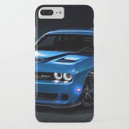B5 Blue Hellcat Challenger SRT iPhone Case