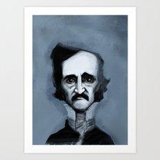 Mr. Alan Poe Art Print