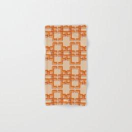 Afo Mid Century Modern Pattern Hand & Bath Towel