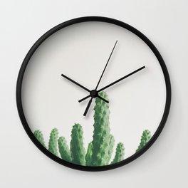Green Fingers Wall Clock