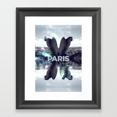 Paris III Framed Art Print