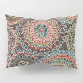 Boho Patchwork-Vintage colors Pillow Sham