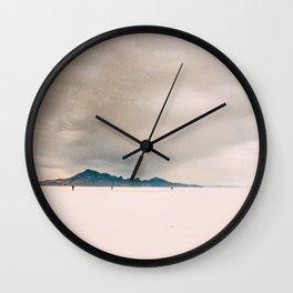 A walk to emptiness Wall Clock