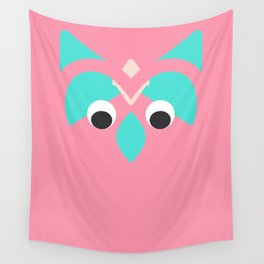 abstract owl Wall Tapestry