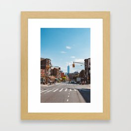 Downtown New York Framed Art Print