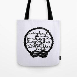 Every Heart is a Package Tote Bag
