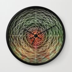 hypermandala Wall Clock