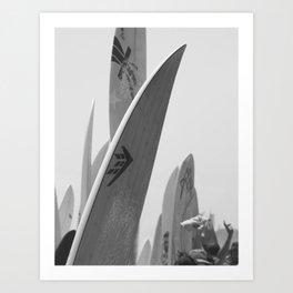 Surf Boards #2 Art Print