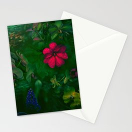 Gathering of Flowers - [Green Version] Stationery Cards