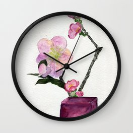 Springtime Presents Wall Clock