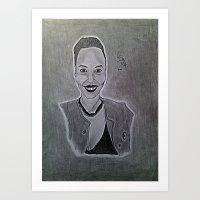East African Girl Art Print
