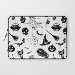 Halloween pattern design Laptop Sleeve