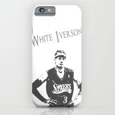 White Iverson iPhone 6s Slim Case
