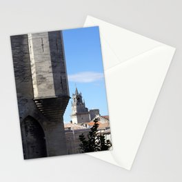 Palace of the Popes in Avignon France Stationery Cards