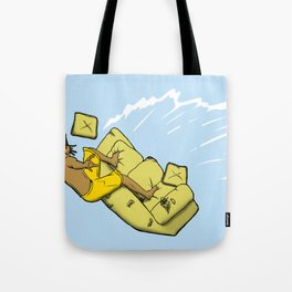 Couch Surfer Tote Bag