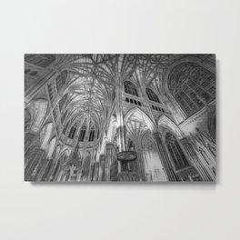 St Patrick's Cathedral New York Art Metal Print