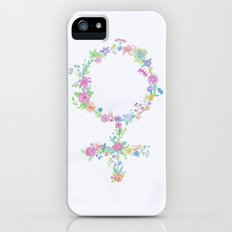 Feminist flower Slim Case iPhone (5, 5s)