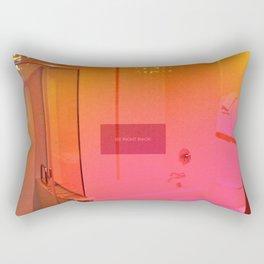 BE RIGHT BACK Rectangular Pillow