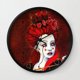 Reina de Corazones Wall Clock