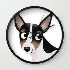 Rat Terrier - Cute Dog Series Wall Clock