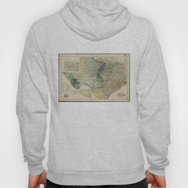 Vintage Map of The Texas Oil and Gas Fields (1920) Hoody